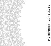 Oriental Vector Frame With Grey ...