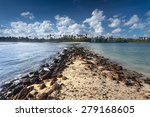 Tropical Remote Island In The...