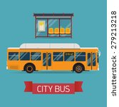 cool modern flat design public... | Shutterstock .eps vector #279213218