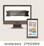 technology design over white... | Shutterstock .eps vector #279225845