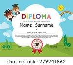 preschool elementary school... | Shutterstock .eps vector #279241862