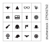 accessories icons universal set ... | Shutterstock . vector #279242762
