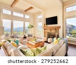 great room in large house ... | Shutterstock . vector #279252662