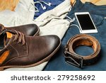 set of clothes. still life. | Shutterstock . vector #279258692