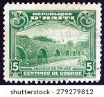 haiti   circa 1933  a stamp... | Shutterstock . vector #279279812