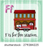 Flashcard Letter F Is For Fire...