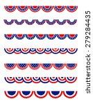 usa 4th of july patriotic  ...   Shutterstock . vector #279284435