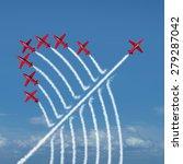disruptive innovation... | Shutterstock . vector #279287042