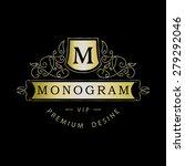monogram design elements ...   Shutterstock .eps vector #279292046
