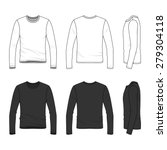 Men's Clothing Set In White And ...