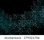 abstract technological... | Shutterstock . vector #279321746