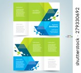 brochure design template | Shutterstock .eps vector #279330692