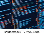 html and css code developing... | Shutterstock . vector #279336206