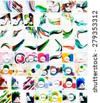 mega collection of geometric... | Shutterstock .eps vector #279353312