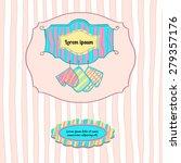 sticker and label design for... | Shutterstock .eps vector #279357176