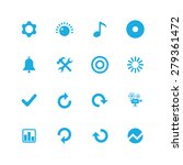 audio icons universal set for... | Shutterstock . vector #279361472