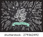 postcard with text have a nice... | Shutterstock .eps vector #279362492