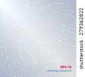 abstract technology hi tech... | Shutterstock .eps vector #279362822