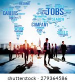 jobs occupation careers... | Shutterstock . vector #279364586