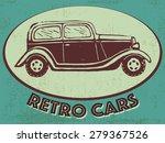 vintage vector illustration... | Shutterstock .eps vector #279367526