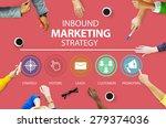 inbound marketing strategy... | Shutterstock . vector #279374036