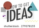 ideas thinking concept... | Shutterstock . vector #279378155