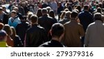 crowd of people at the street ... | Shutterstock . vector #279379316