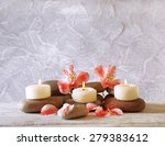 still life with spa candles on... | Shutterstock . vector #279383612