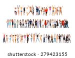 success concept isolated over... | Shutterstock . vector #279423155