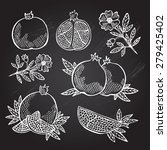 hand drawn decorative...   Shutterstock . vector #279425402