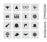 accessories icons universal set ... | Shutterstock . vector #279432206