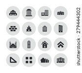 architecture icons universal... | Shutterstock . vector #279444302