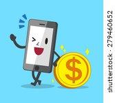 business concept cartoon... | Shutterstock .eps vector #279460652
