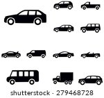 car icons   Shutterstock .eps vector #279468728