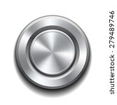 realistic metal button with... | Shutterstock .eps vector #279489746