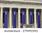 Yale University graduation ceremonies on Commencement Day on May 18, 2015.