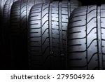 Car Tyres Close Up