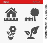home   real estate icons.... | Shutterstock .eps vector #279509606