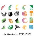 mega logo set.vector | Shutterstock .eps vector #279510302