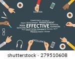 vector effective concept ... | Shutterstock .eps vector #279510608