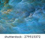 abstract shapes made of fractal ... | Shutterstock . vector #279515372