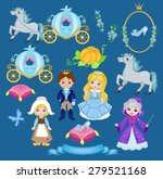 cinderella vector illustration... | Shutterstock .eps vector #279521168