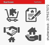 real estate icons. professional ... | Shutterstock .eps vector #279527072