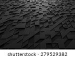 abstract 3d rendering of black... | Shutterstock . vector #279529382