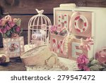 Vintage Home Still Life With...