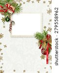 template for calendar with... | Shutterstock . vector #279558962