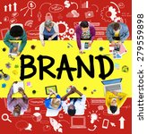 brand commercial marketing... | Shutterstock . vector #279559898