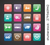 auto icons universal set for... | Shutterstock . vector #279560942