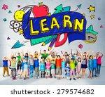 kids school education learn... | Shutterstock . vector #279574682