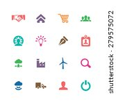 b2b icons universal set for web ... | Shutterstock . vector #279575072